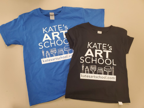 Youth 'Kate's Art School' Graphic T-Shirt - Multiple Sizes & Colors!