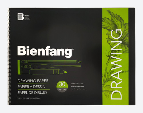 Bienfang Spiral Bound Drawing Paper Pad - Multiple Sizes