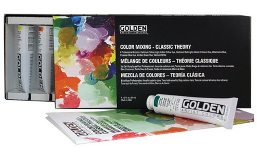 GOLDEN Color Mixing - Classic Theory 8ct. Set