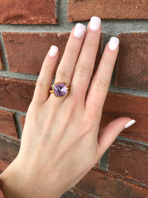 Victoria Lynn 12mm Rope Ring - Size 7