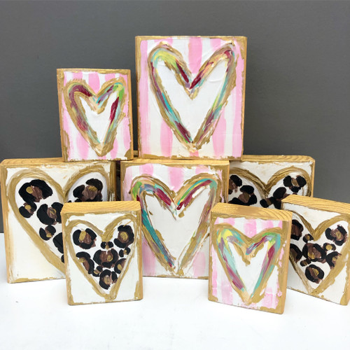 Heart Wood Block