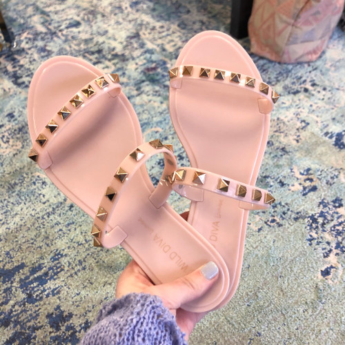 Street Chic Studded Sandals