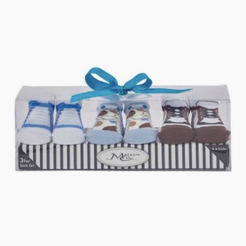 Baby Boy Socks Gift Set