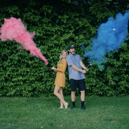 Gender Reveal Cannon