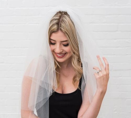Bachelorette Party Bridal Veil