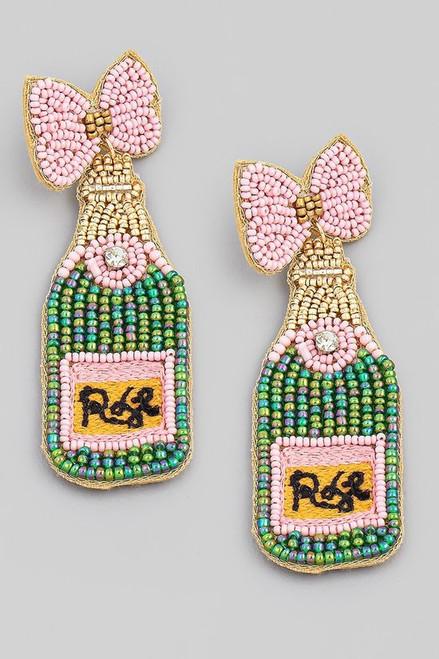 Rosé All Day Earrings