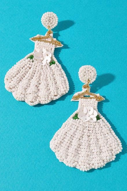 Wedding Dress Earrings