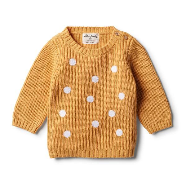 Knitted Spot Jumper