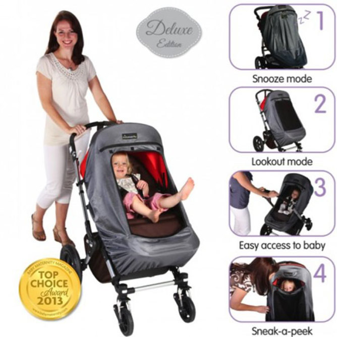 Plus Deluxe Blackout Buggy Shade Cover