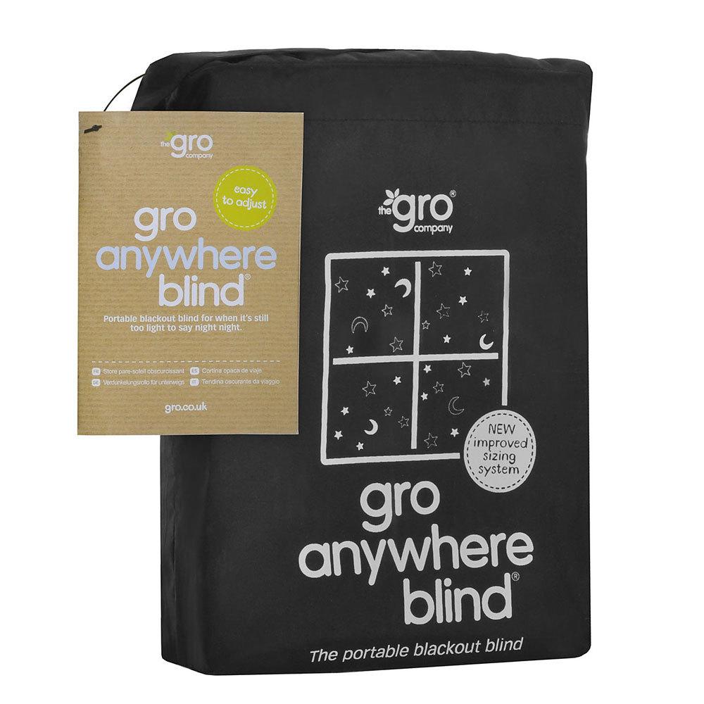 Gro Anywhere Blackout Blind - Black