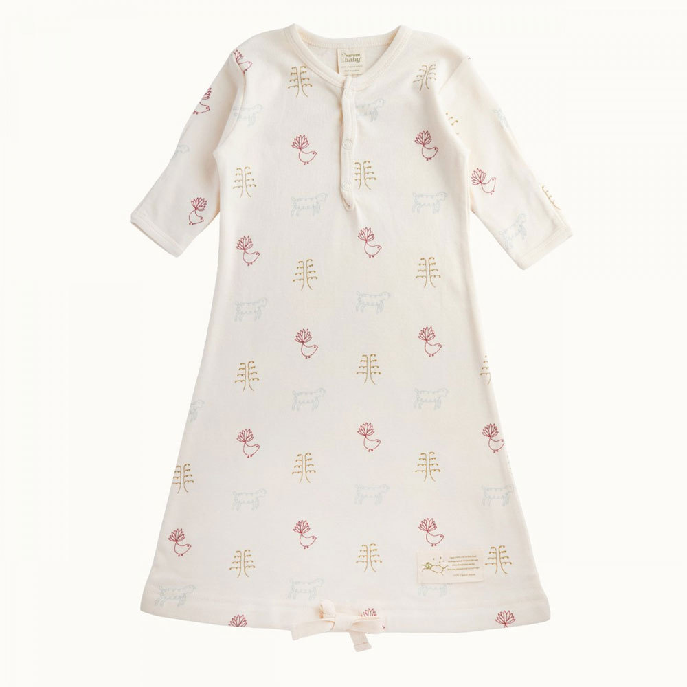 Organic Cotton Gown