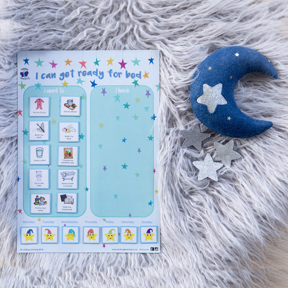 Magnetic Bedtime Chart