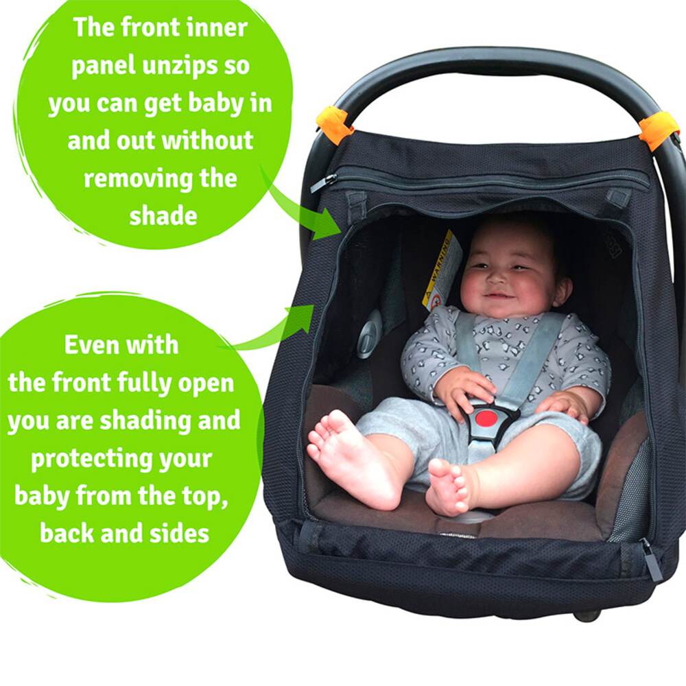 Sleep Shade for Infant Car Seats (Black)