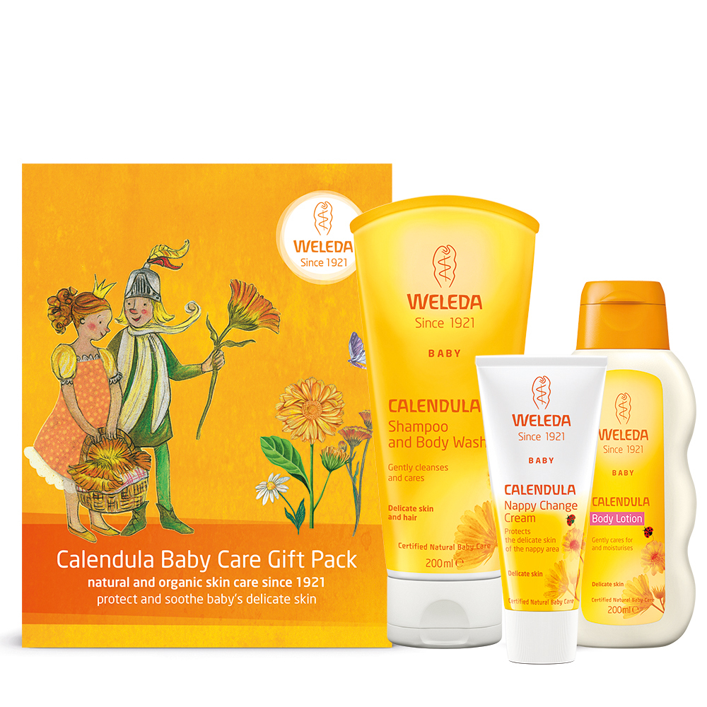Calendula Baby Care Gift Pack