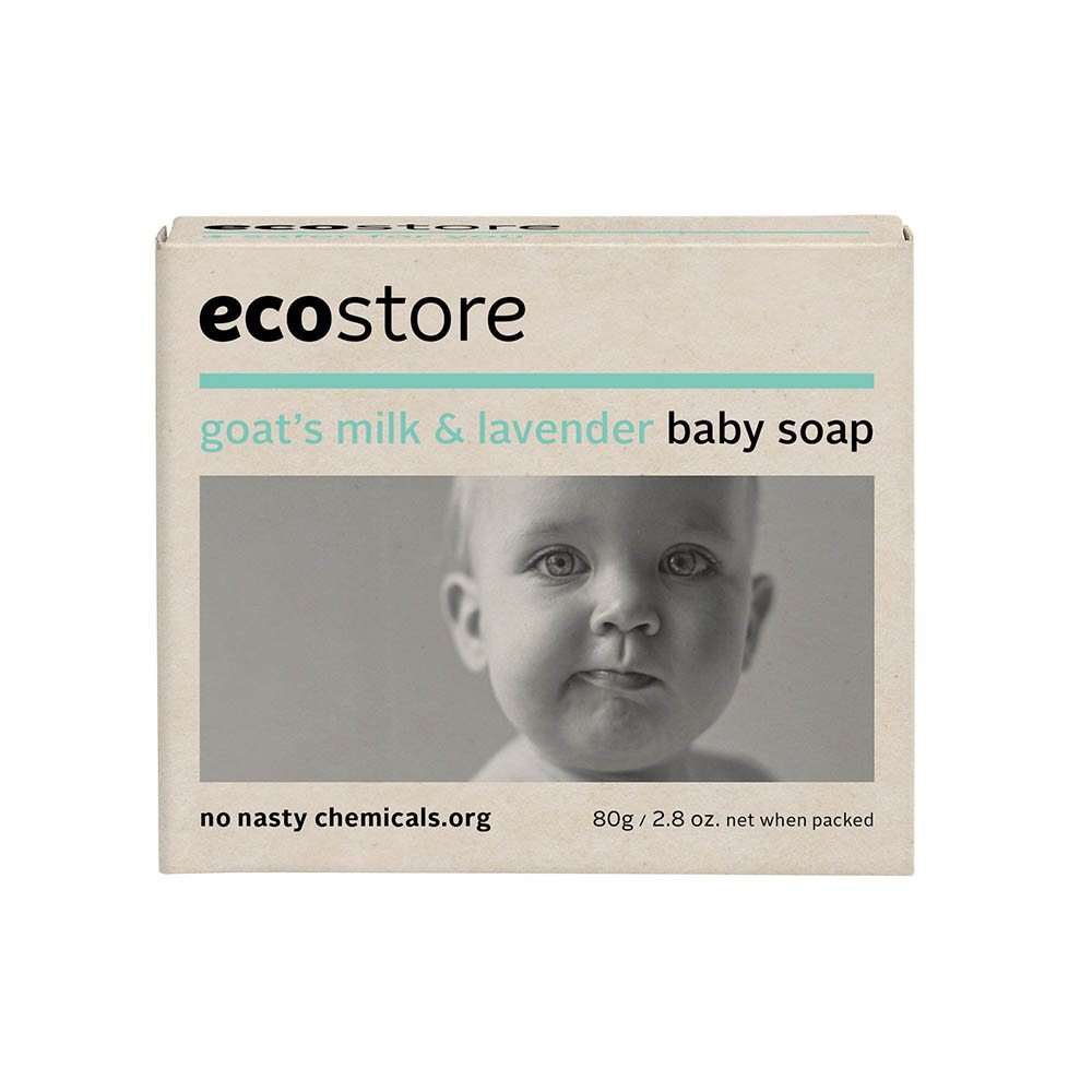 Eco Store Goat's Milk & Lavender Baby Soap