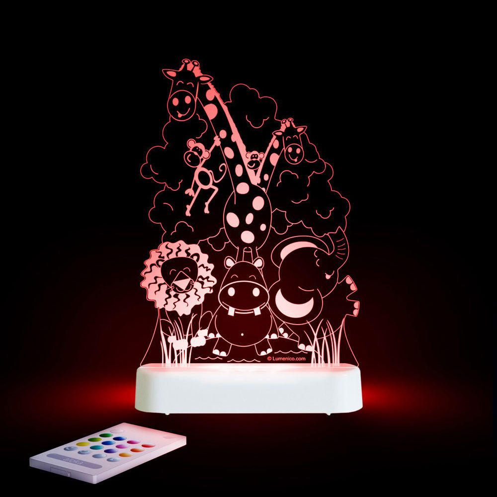 Aloka USB/Battery LED Night Light - Jungle Theme