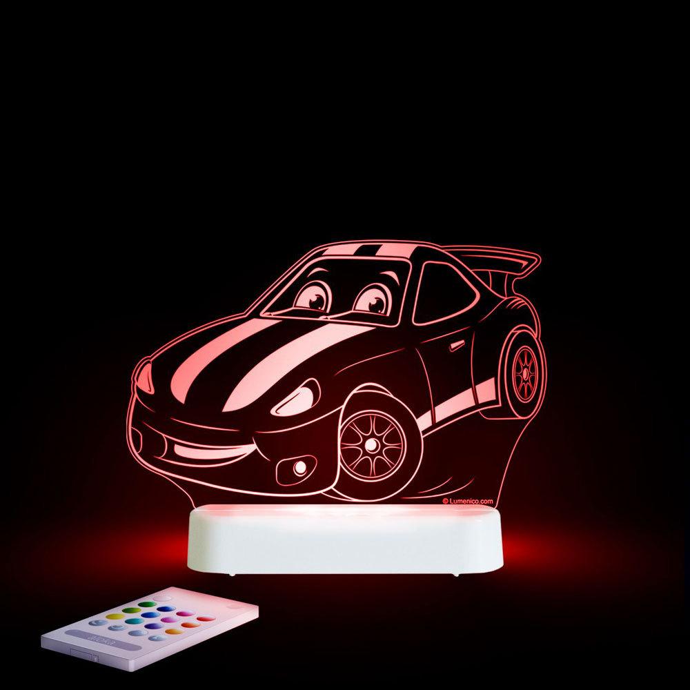 Aloka USB/Battery LED Night Light - Race Car