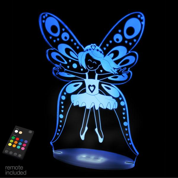 Aloka USB/Battery LED Night Light - Fairy