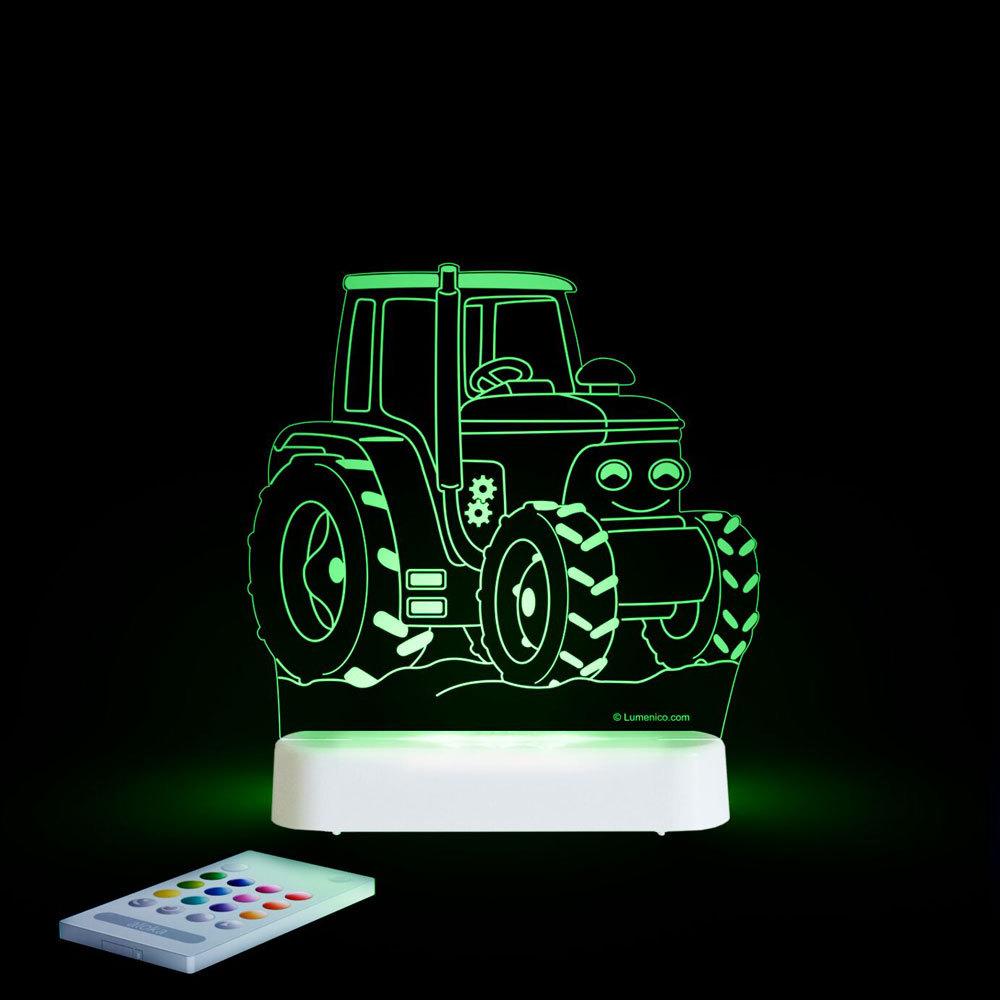Aloka USB/Battery LED Night Light - Tractor