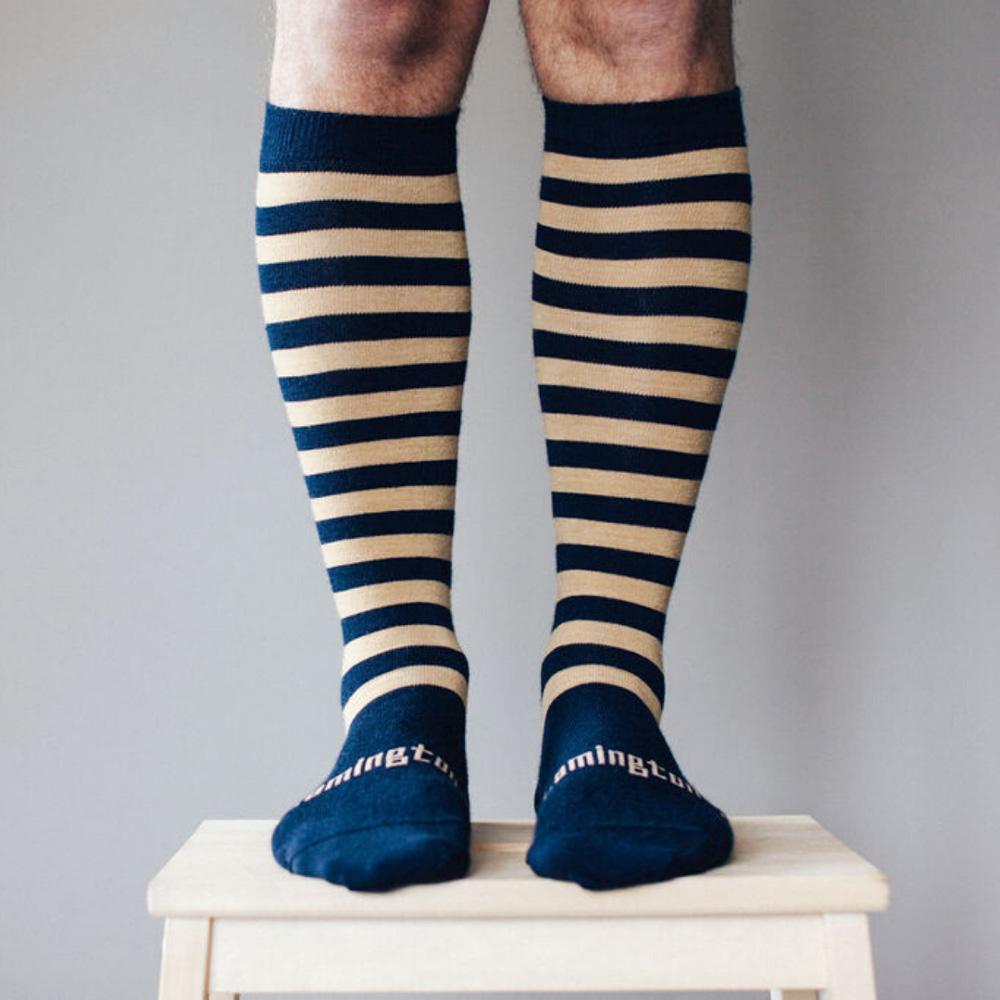 Mens Knee-high Merino Socks