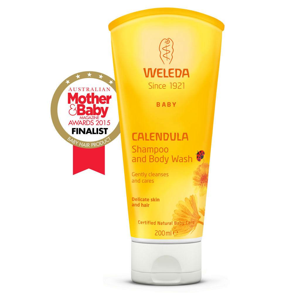 Calendula Shampoo and Body Wash