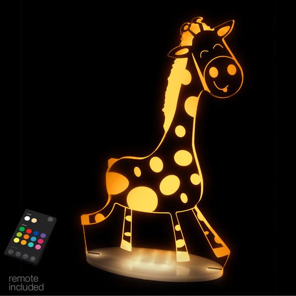Aloka USB/Battery LED Night Light - Giraffe