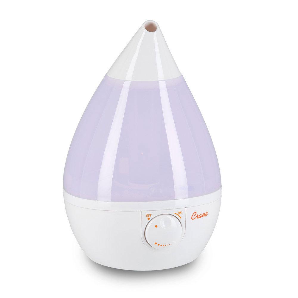 Crane Drop Cool Mist Humidifier, Filter-Free 3.75L
