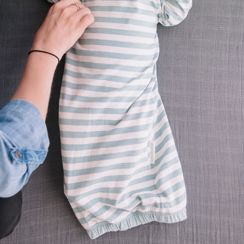Merino/Organic Cotton Gown