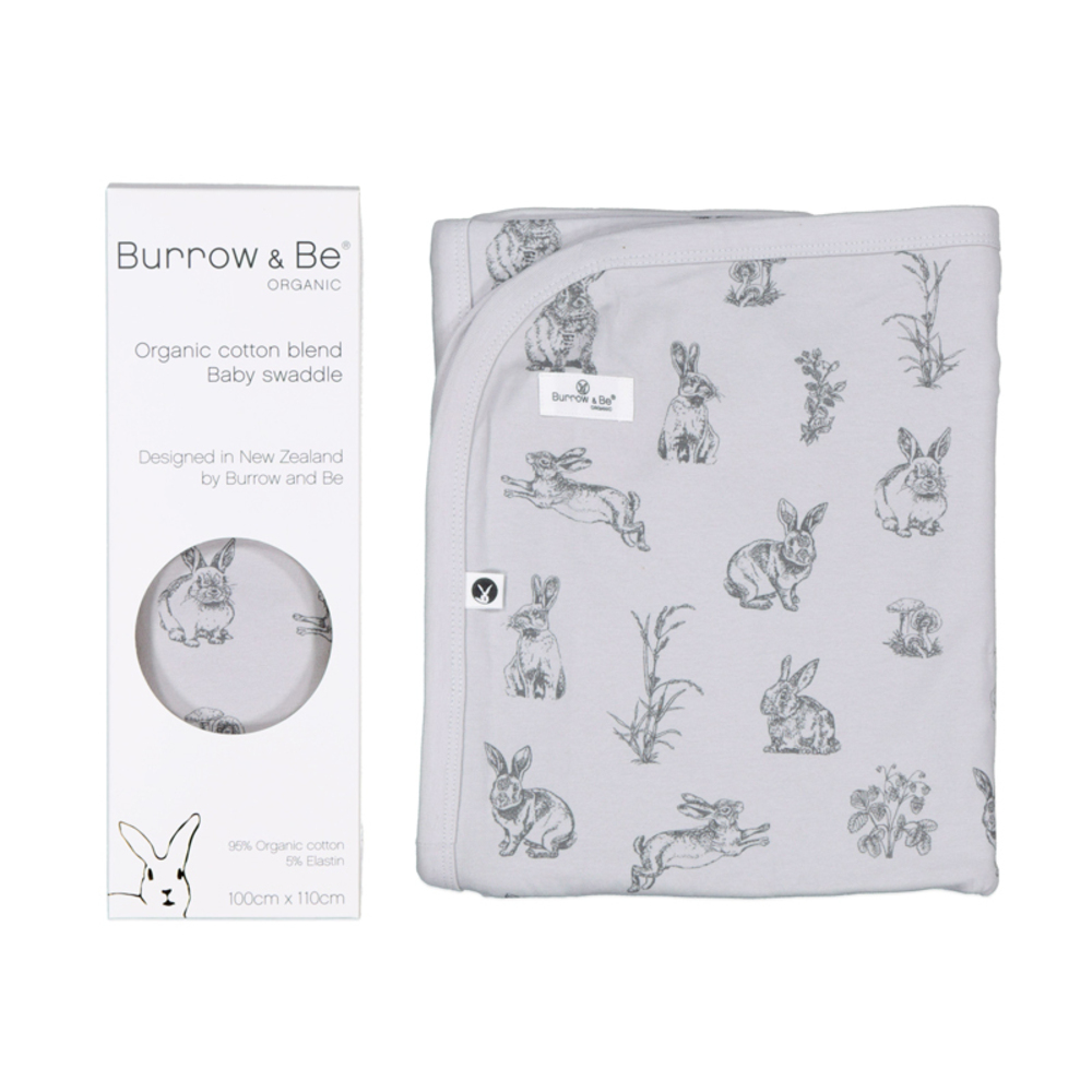 Burrow & Be Organic Cotton Essentials Swaddle