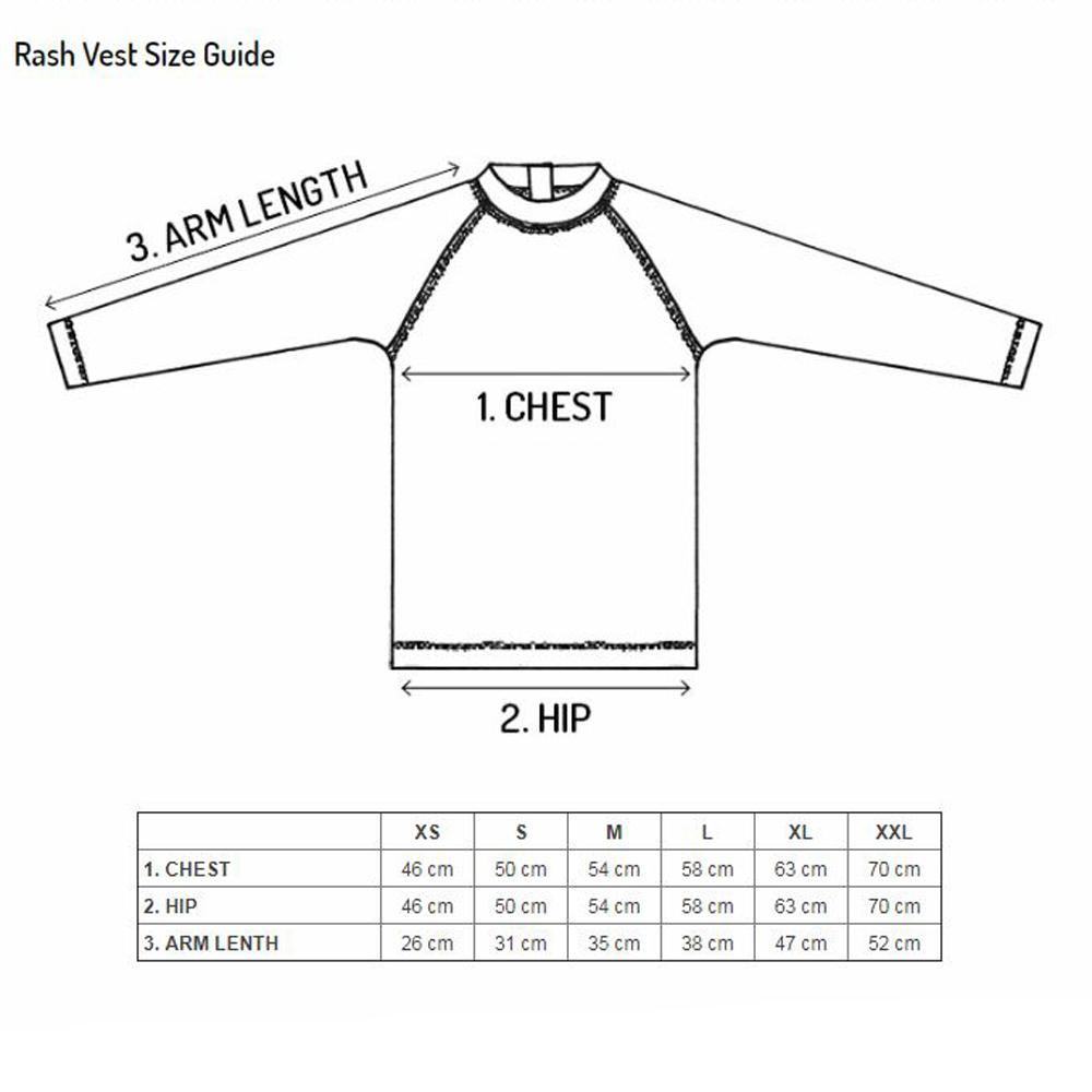UPF50+ Rash Vest