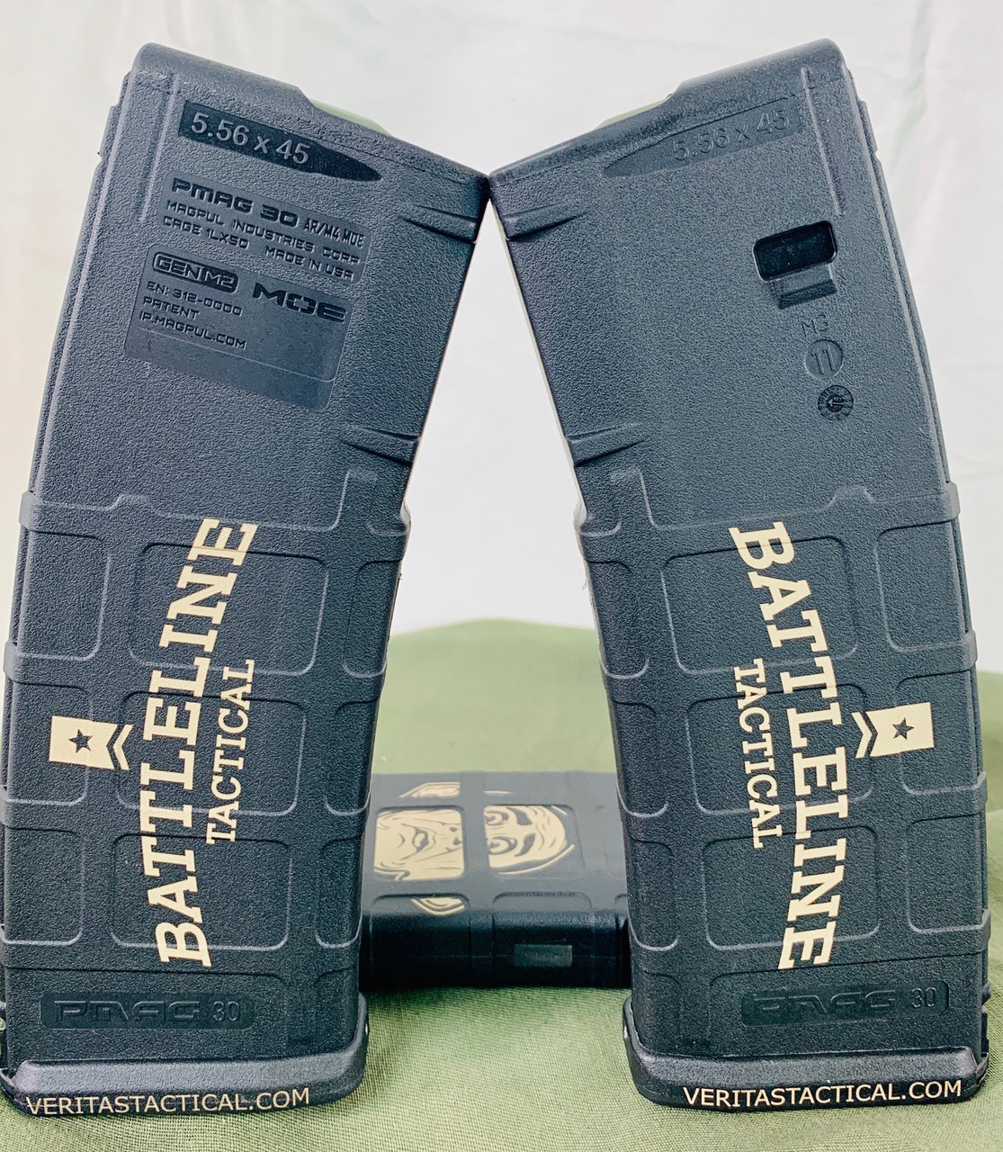 Battleline Tactical Logo Laser Engraved Magazine