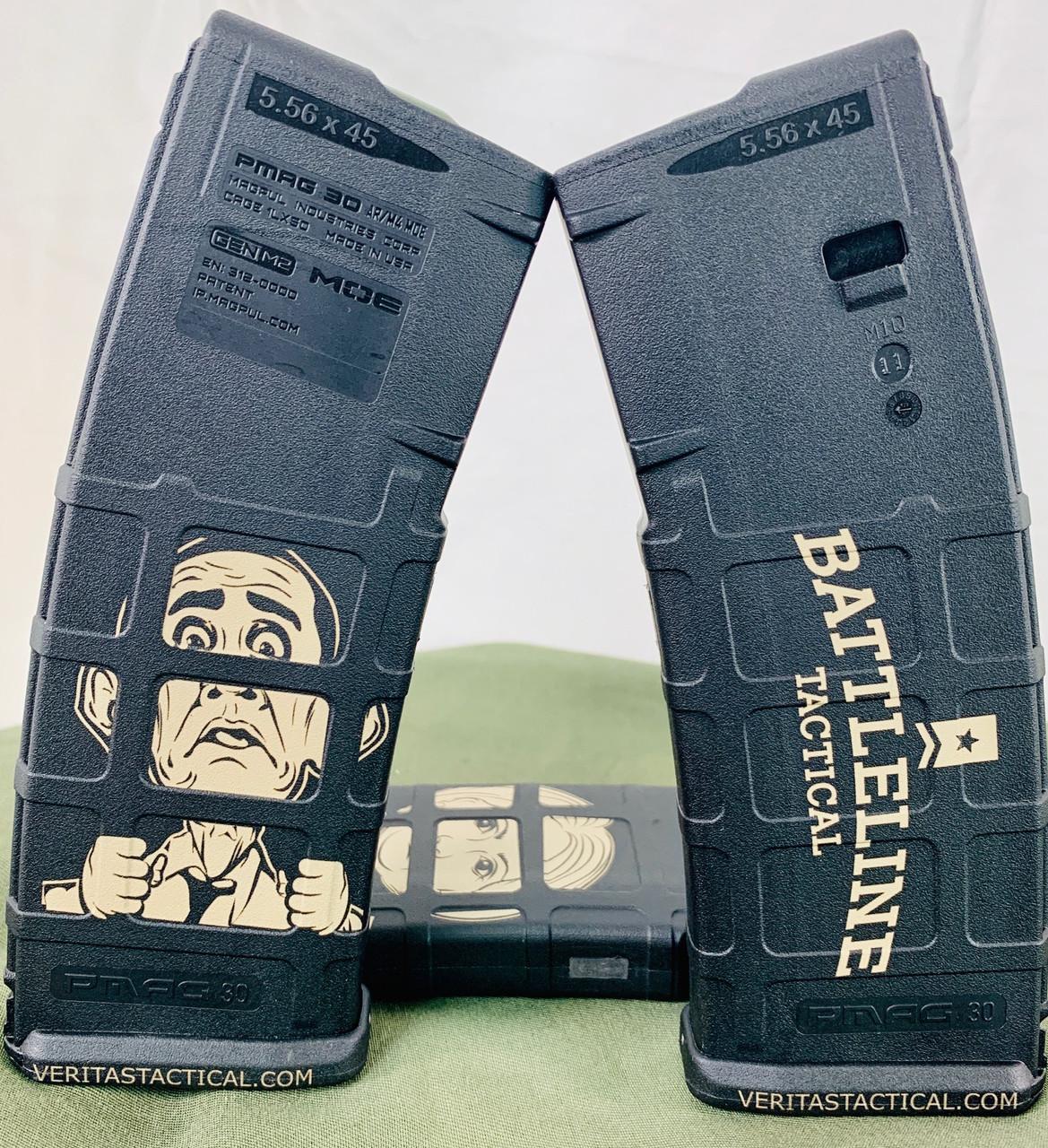 Battleline Tactical Traitor Obama Laser Engraved Magazine