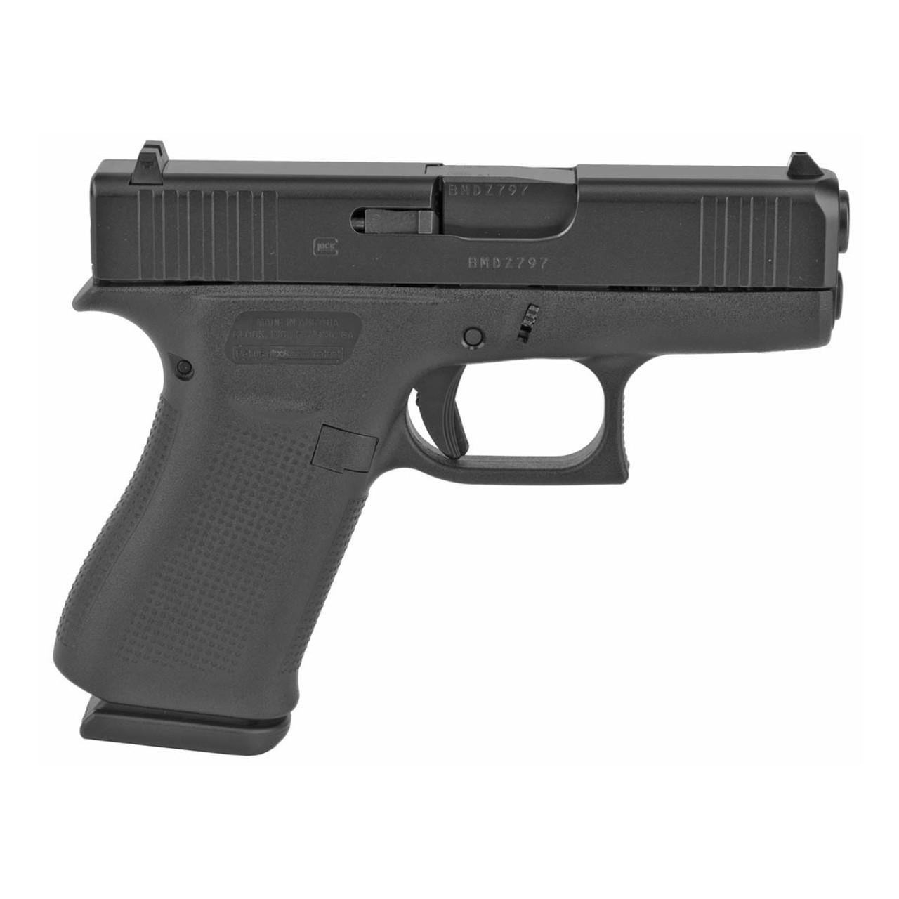 Glock 43X Black Slide