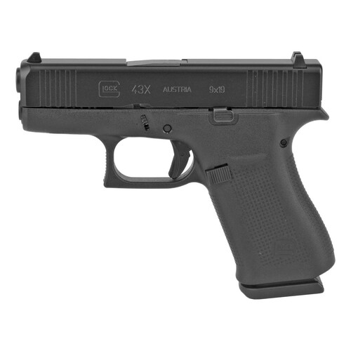 Glock 43X Black Slide