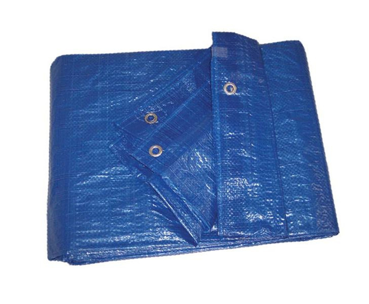 3.5 oz. Imported Blue Poly Tarps
