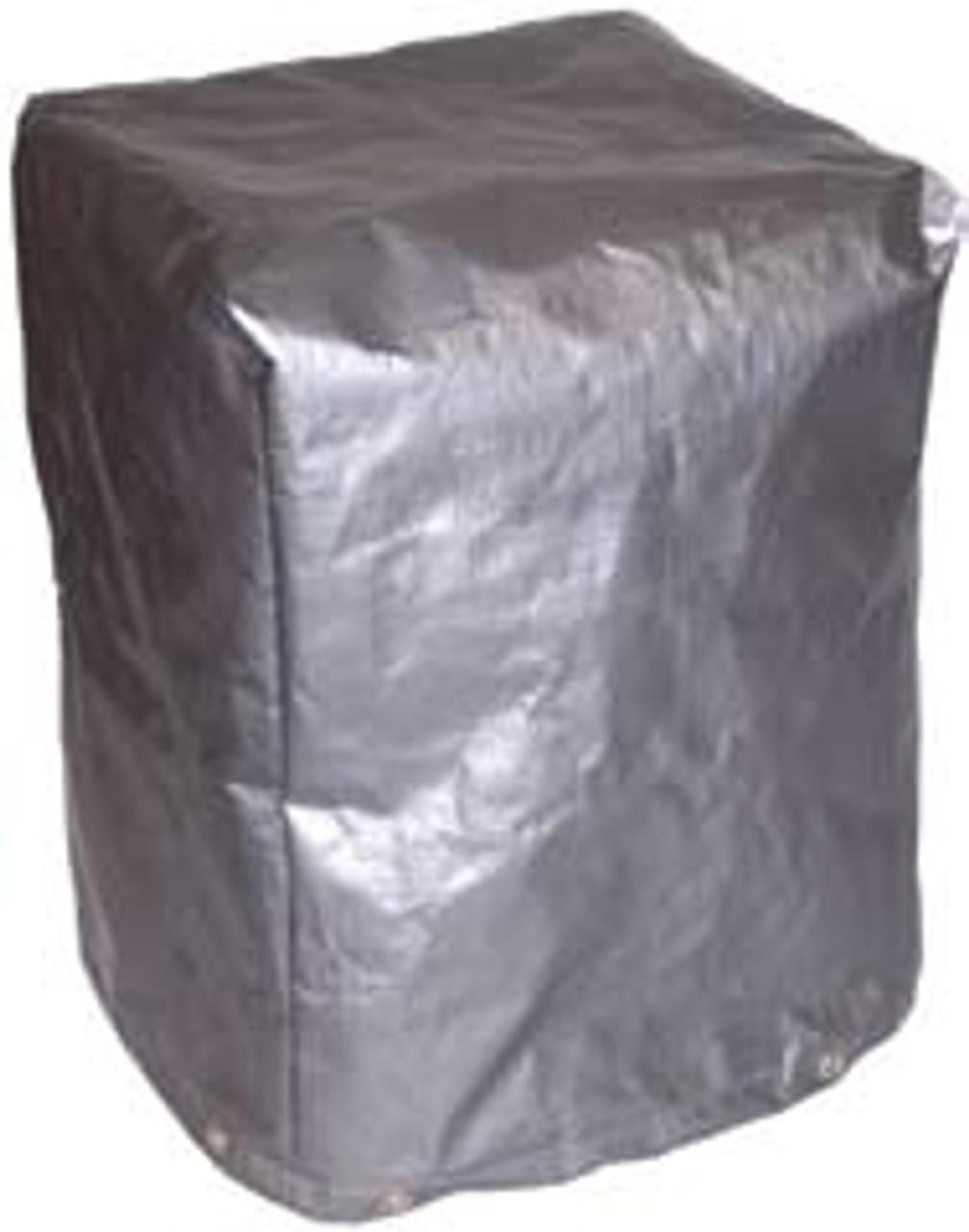 7 oz. Polyethylene Silver Black Machine Cover