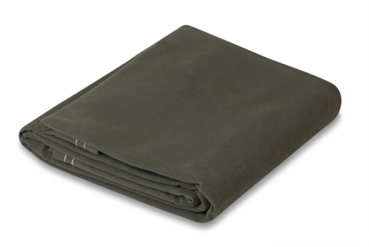 10 oz. Olive Drab Canvas Tarps - Flame Retardant