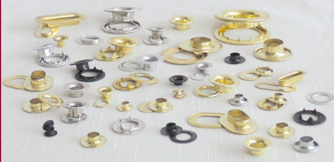 Grommets - Brass and Stainless Steel