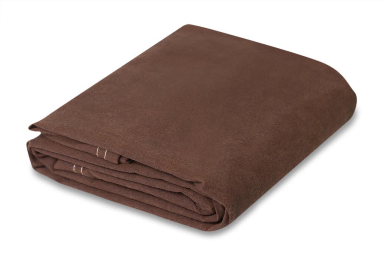 10 oz. Brown Canvas tarps, water - mildew resist.