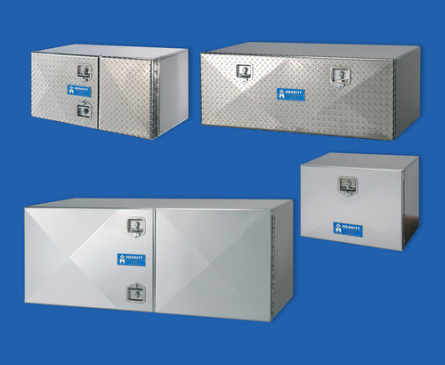 "Tool Box, Double Diamond Plate Door, 18"" X 24"" X 60"" (40-300)"