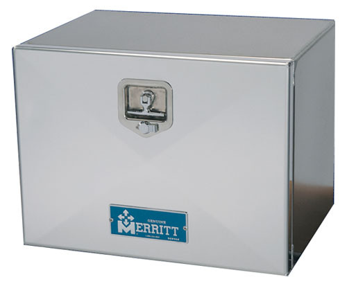 "Merritt Aluminum Tool Box, Single Smooth Door, 18"" X 24"" X 60"" (40-297)"