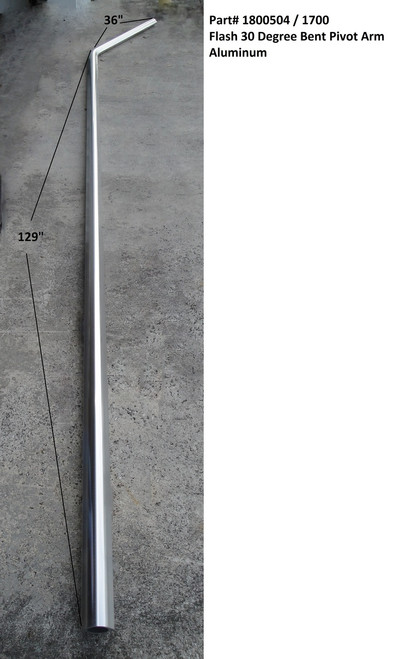 Flash™ 30 degree Bent Pivot Arm, Aluminum (20-1700/1800504)