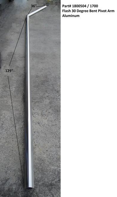 Flash?? 30 degree Bent Pivot Arm, Aluminum (20-1700/1800504)