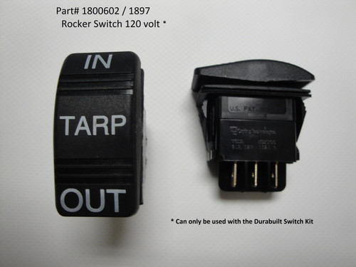 Switch, Rocker 120 Volt (20-1897/1800602)