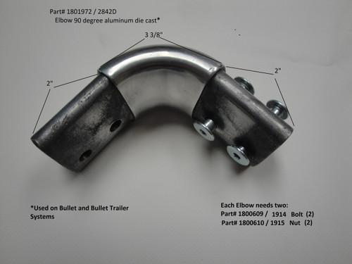 Elbow, 90 Deg, Aluminum Die Cast (20-2842D/1801972)
