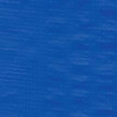 50X 50 Blue 5.5 oz..Per Sq. Yard, 10 Mil Thick Polyethylene Tarp W/Rope Hem And Grommets 24 Apart