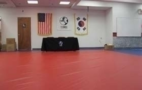 24' X 24' Vinyl Coated Polyester 18 oz. Mat Cover