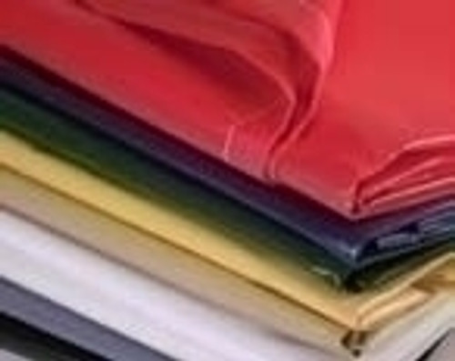 12 X 24 - 18 oz. Yellow Vinyl Flame Retardant Laminate Tarp