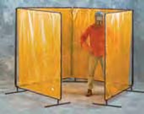 8'X8'X8'X8' X 8' High  - Four Panel Tubular Welding Frames Without Curtains