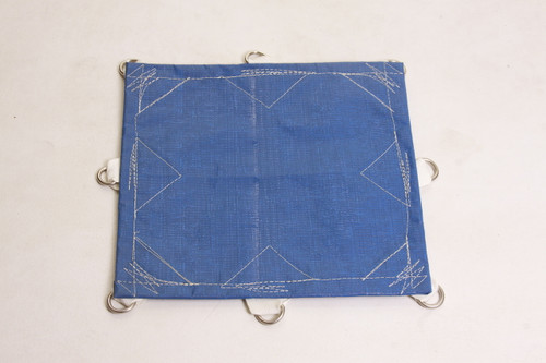 18 X 24 c/s Ultra Strong Regal Style Poly Tarp - Blue, with Reinforced Dee Rings (TPU018024REGALBL)